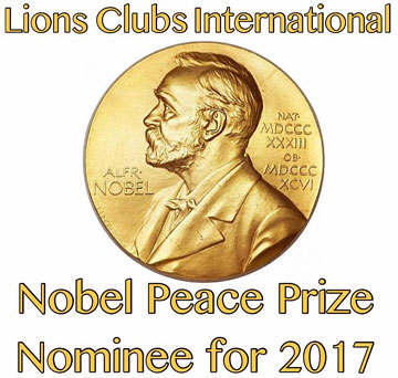 LCI Nobel Peace Prize Nominee for 2017