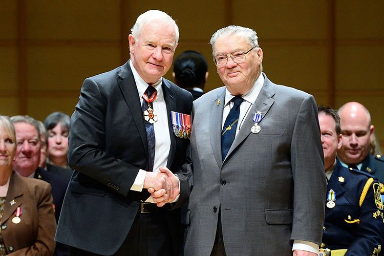 PDG Dan Claypool with Governor General the Right Honourable David Johnston